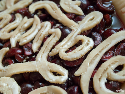 Humble Pie Type humble pie food type food typography baking type script cherry design graphic design food