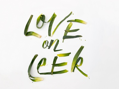 Love On Leek #vdaywordplay