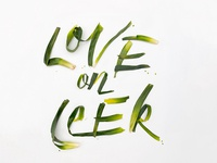 Love On Leek #vdaywordplay