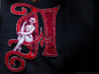 Scarlet Lettering (collab with Carolyn Bouchard)