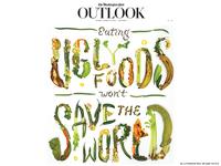 Ugly Food Typography + Washington Post