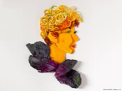 Saladanielle Evans Food Illustration