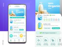 Milk Ordering App Design