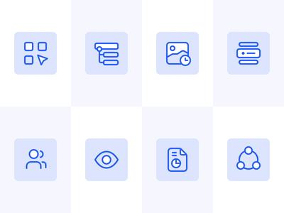 Animated icons for Maze line flat illustration logo iconography interaction motion video animation icon set icon