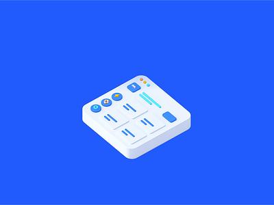 Loader Animation for Maze minimal design flat 3d c4d cinema4d motion interface illustration icon video animation