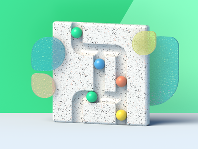 3d abstract for Ophelos illustration 3d