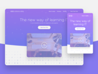 IT Education landing page
