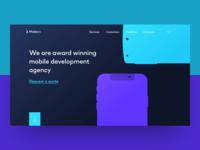 Mobexs Landing Page
