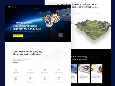 Mantle Labs design ux simple ui landing homepage webdesign