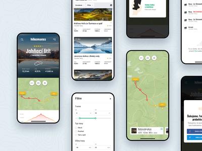 Hikemates responsive 🏔 mobile responsive design ui ux webdesign