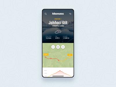 Hikemates search 🏔 responsive app animation design ux ui webdesign
