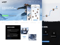 Go Snow landing page