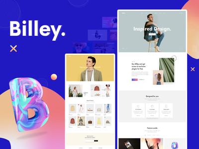 Billey   Creative Multipurpose WordPress Theme