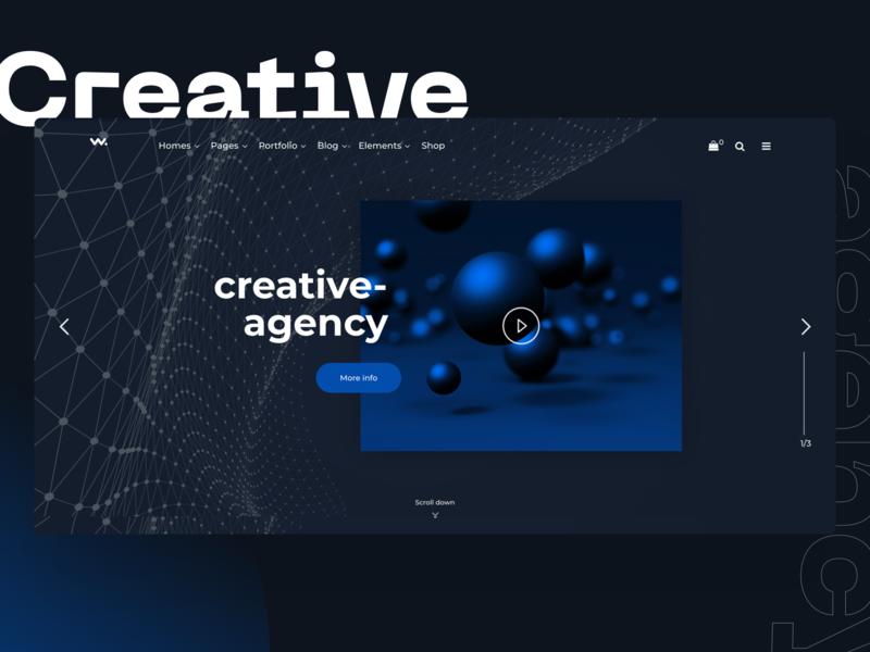 Wilson   Creative Multipurpose Business WP Theme graphic corporation web design freelance agency business ux ui design portfolio multipurpose webdesign creative modern psd minimal wordpress