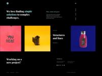 Creative homepage - Brook