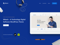 Mitech - Technology, IT Services & Solutions WordPress Theme