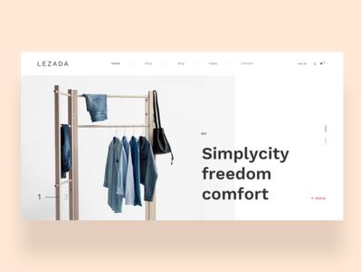 Lezada - Elegant Fashion Homepage