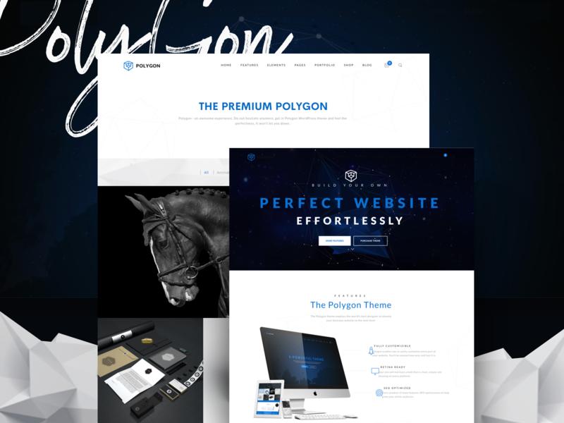 Polygon - Business Corporation Agency WP Theme project company professional corporation business agency ux ui portfolio webdesign creative multipurpose modern minimal psd wordpress