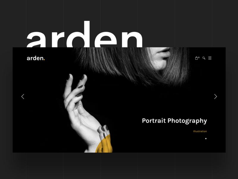 Arden - Responsive WP Theme for Agency and Business wordpress psd minimal modern creative webdesign portfolio ui ux dailyui design ecommerce business blog agency