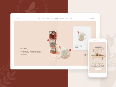 LeArts | WooCommerce WP Theme - Homepage 2