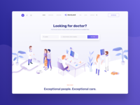 AeroLand | Clinic Homepage Web Design