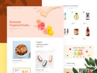 Freshen | A fresh design for Organic stores