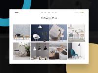Robin | Furniture Instagram Shop Page