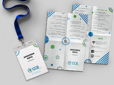 Council for Creative Education 4th Symposium 2016 event lanyard pouch lanyard international finland symposium illustration event branding event artwork