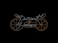 The Pursuit IS Happiness.