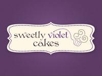 Logo Sweetly Violet Cakes