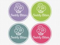 Logo Swirly Bites