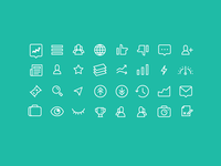 Robinhood - Icon set