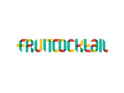 Fruitcocktail 02 typography maurice van der bij