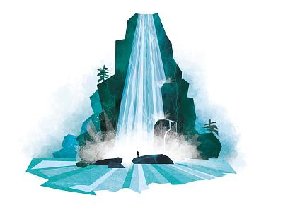 Water photoshop illustrator illustration maurice van der bij