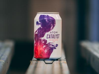 Atom Catalyst Beer Can
