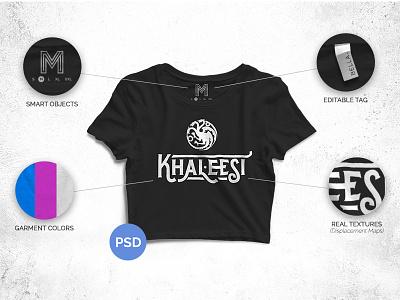 Free Crop Top Mockup 2016 bella hand drawn black khaleesi game of thrones garment american apparel free t-shirt mockup free mockup mockup mock free