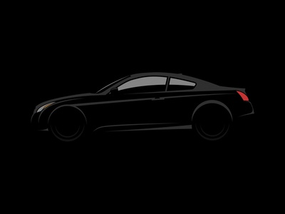 The Infiniti G37 Coupe infiniti car coupe illustration