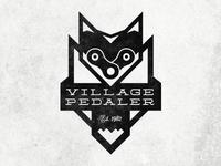 Village Pedaler - Bike Shop Logo