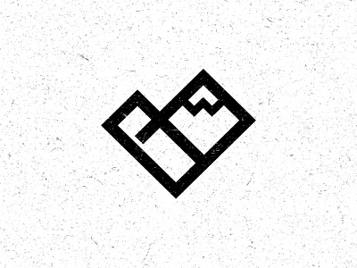 Church Logo church logo heart mountain cross