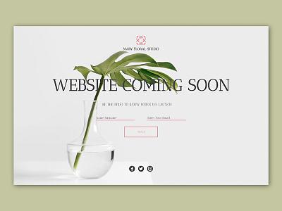 Daily UI - Day 016 web ux ui summer minimal page landing ios flat dailyui design app