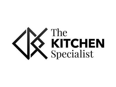 The Kitchen Specialist - Logo flat typography minimal logo design branding