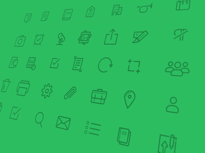 Evernote iOS 7 Icons