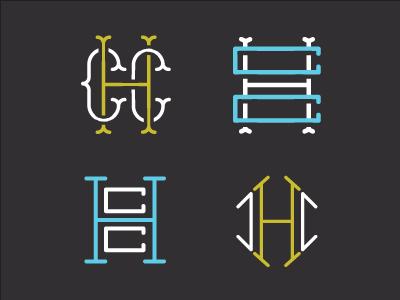 Monogramz monogram typography illustration custom