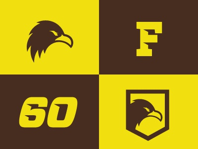 gO fAlCoNs!! logo falcons branding icons numbers crest
