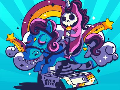 Overbite: Ponydontitis characterdesign cartoon character vector cartoon overbite kawaii karyl gil cute illustration
