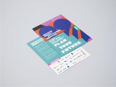 — Plan you future / Flyer (Front + Back)