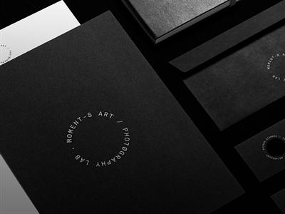 Moments Art / Photography Lab logotypes logo mark minimal logotype brand photographer camera lens camera branding logo design brand identity typography