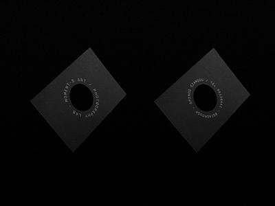 Moments Art / Photography Lab design logo design logo branding symbol logo mark logotype business card minimal brand identity brading brand photographer camera lens
