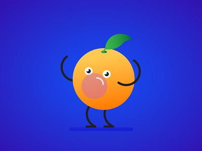 Orange Bubblegum