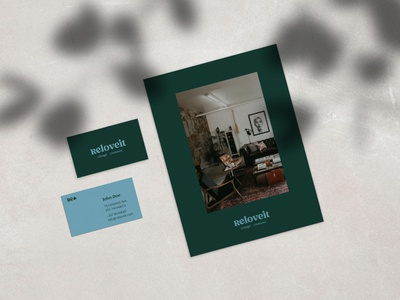 — ReLoveit Business Card & Promo Card